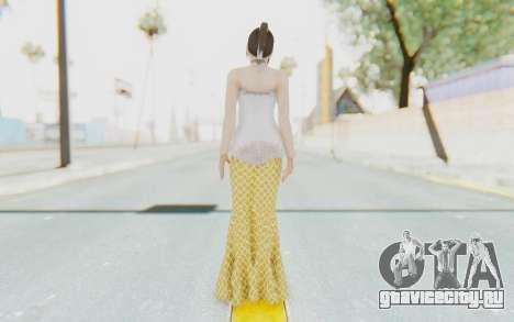 Linda Meilinda Kebaya для GTA San Andreas третий скриншот