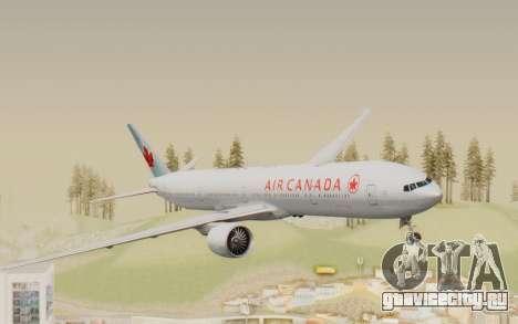 Boeing 777-300ER Air Canada для GTA San Andreas