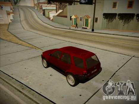 Ford Escape 2005 для GTA San Andreas вид сзади слева