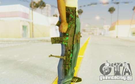 ACR CQB Magma Green для GTA San Andreas
