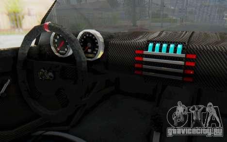 Bumblebee-R для GTA San Andreas вид изнутри
