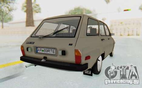 Dacia 1310 Break 1988 для GTA San Andreas вид сзади слева