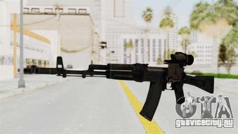 AK-74M v4 для GTA San Andreas