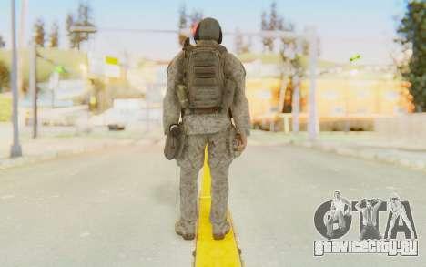 CoD MW2 Ghost Model v5 для GTA San Andreas третий скриншот