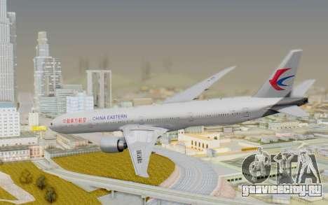 Boeing 777-300ER China Eastern Airlines для GTA San Andreas вид слева