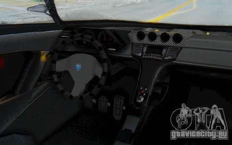 GTA 5 Grotti Prototipo v2 для GTA San Andreas вид изнутри