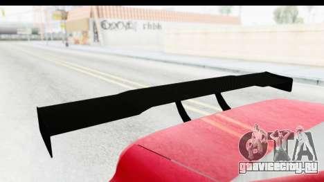 Elegy KraZ Edition Beta 0.8.5 для GTA San Andreas вид сзади