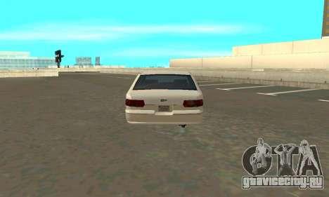 Caprice styled Premier для GTA San Andreas вид сзади слева