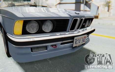 BMW M635 CSi (E24) 1984 IVF PJ1 для GTA San Andreas вид сверху