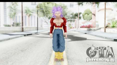 Dragon Ball Xenoverse Future Trunks SSJ4 для GTA San Andreas второй скриншот