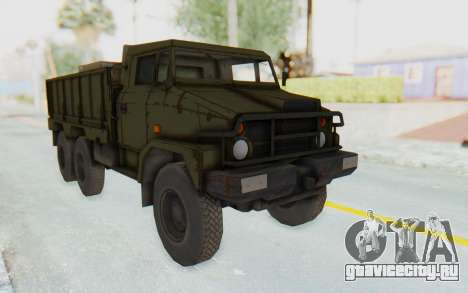 MGSV Phantom Pain BOAR 53CT Truck для GTA San Andreas вид сзади слева