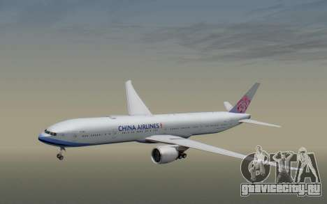 Boeing 777-300ER China Airlines для GTA San Andreas