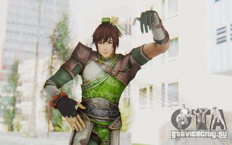 Dynasty Warriors 8 - Guan Su для GTA San Andreas