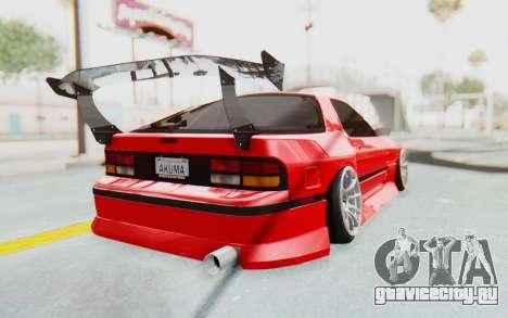Mazda RX-7 FC3S BN Sport для GTA San Andreas вид справа