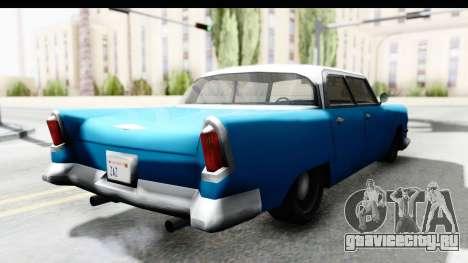 Cabbie Oceanic для GTA San Andreas вид сзади слева