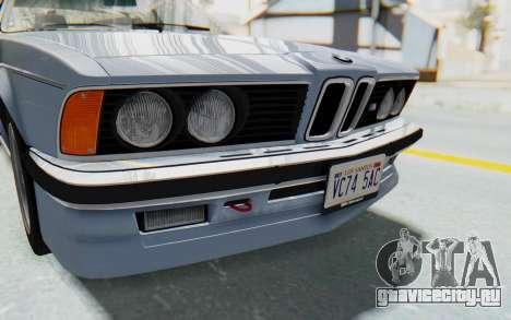 BMW M635 CSi (E24) 1984 IVF PJ1 для GTA San Andreas вид сбоку