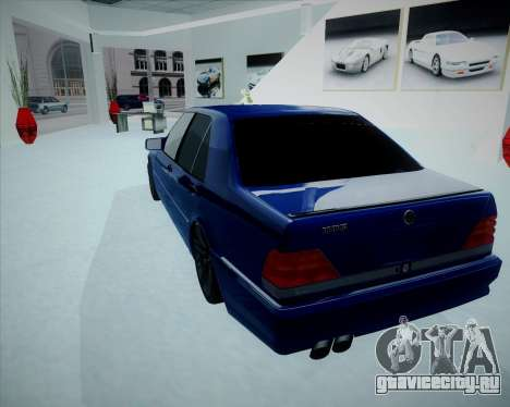 Mercedes Benz W140 Brabus для GTA San Andreas