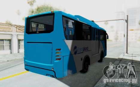 Hino Evo-C Transjakarta Feeder Bus для GTA San Andreas вид сзади слева