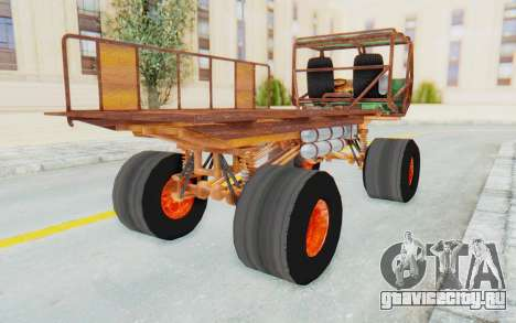 Mongo from Fast and Furious для GTA San Andreas вид сзади слева