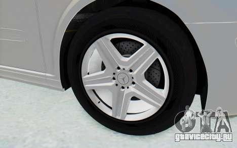 Mercedes-Benz Viano W639 2010 Long Version для GTA San Andreas вид сзади