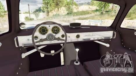 Mercedes-Benz 300SL Gullwing 1955 для GTA 5