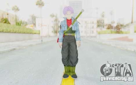 Trunks Del Futuro v2 для GTA San Andreas второй скриншот
