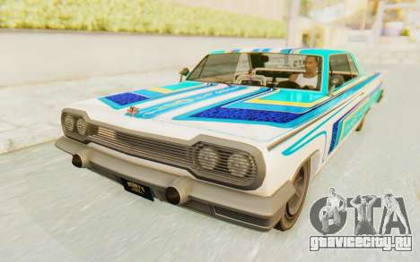 GTA 5 Declasse Voodoo Alternative v1 для GTA San Andreas вид сзади