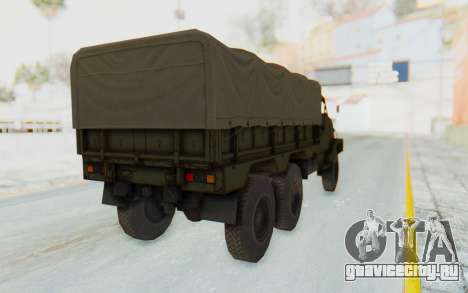MGSV Phantom Pain BOAR 53CT Truck Roof для GTA San Andreas вид справа