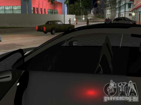Lada X-Ray для GTA Vice City вид сзади слева