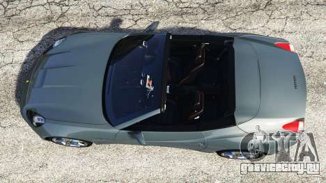 Ferrari California Autovista для GTA 5 вид сзади