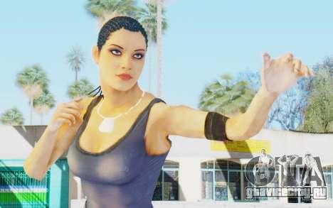 Mortal Kombat X - Jacqui Briggs для GTA San Andreas