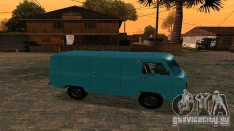 УАЗ-452 для GTA San Andreas вид слева