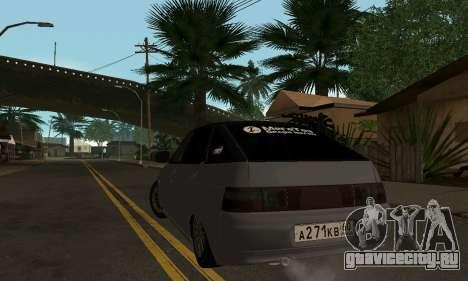 ВАЗ-2112 GVR для GTA San Andreas вид сзади слева
