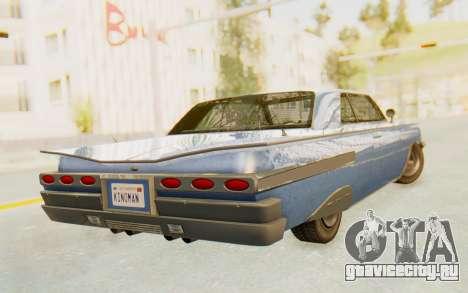 GTA 5 Declasse Voodoo Alternative v1 для GTA San Andreas вид слева