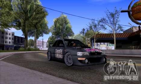 Subaru impreza 22B (SUICIDE SQUAD) для GTA San Andreas