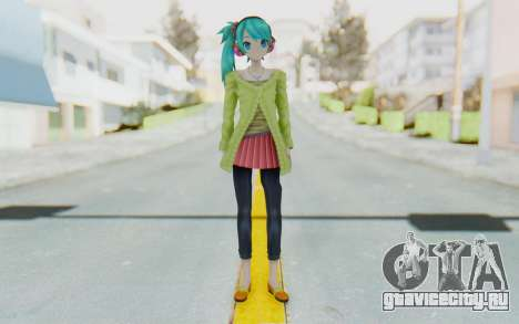Autumn Breeze Miku для GTA San Andreas второй скриншот