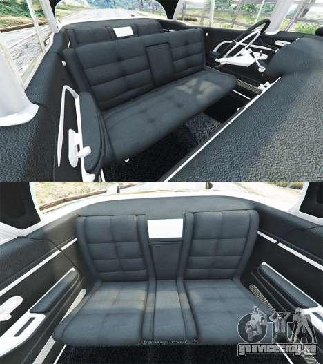 Cadillac Eldorado Brougham 1957 v1.1 для GTA 5 руль и приборная панель