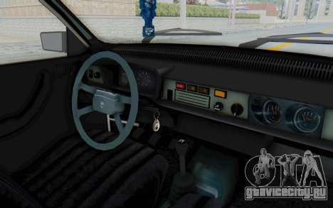 Dacia 1310 Break 1988 для GTA San Andreas вид изнутри