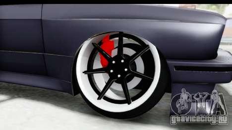 BMW M3 E30 2015 JDM для GTA San Andreas вид сзади