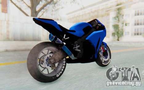 Honda CBR1000RR Streetrace для GTA San Andreas вид слева