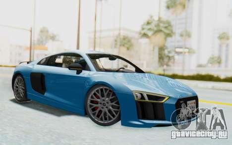 Audi R8 V10 2017 v2.0 для GTA San Andreas
