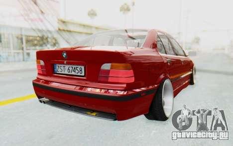 BMW M3 E36 2.5 TDS для GTA San Andreas вид справа