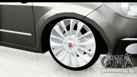 Fiat Linea 2014 для GTA San Andreas вид сзади