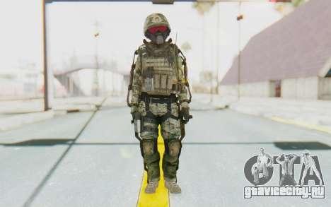 CoD AW US Marine Assault v2 Head B для GTA San Andreas второй скриншот