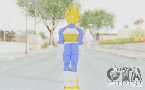 Dragon Ball Xenoverse Vegeta Android Saga SSJ для GTA San Andreas третий скриншот
