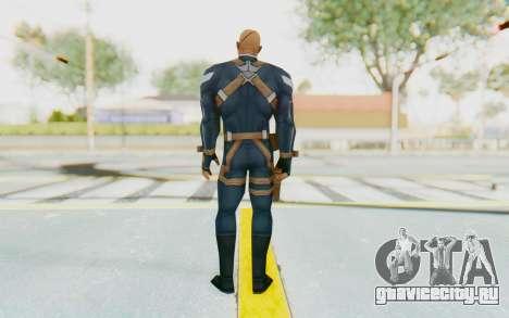 Marvel Future Fight - Nick Fury для GTA San Andreas третий скриншот