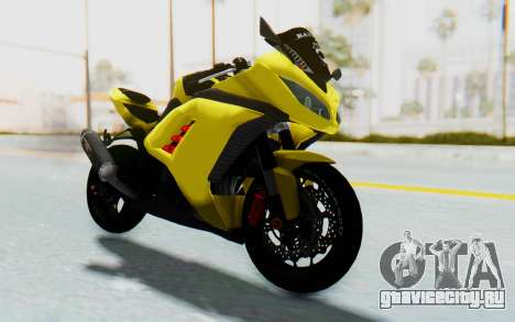 Kawasaki Ninja 250 Abs Streetrace v2 для GTA San Andreas вид справа