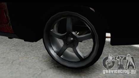 Dodge Charger Daytona F&F Bild для GTA San Andreas вид сзади