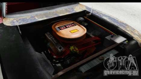 Dodge Charger Daytona F&F Bild для GTA San Andreas вид изнутри
