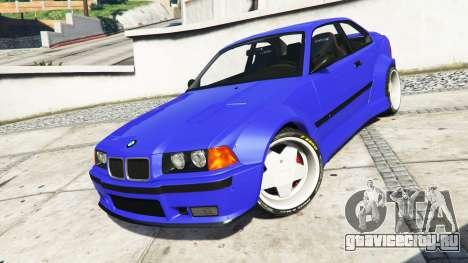 BMW M3 (E36) Street Custom [blue dials] v1.1 для GTA 5 руль и приборная панель